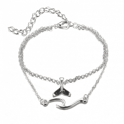 Whale Anklet
