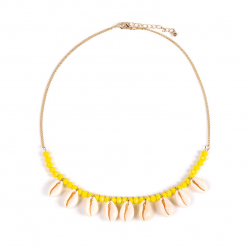 Yellow Beach necklace