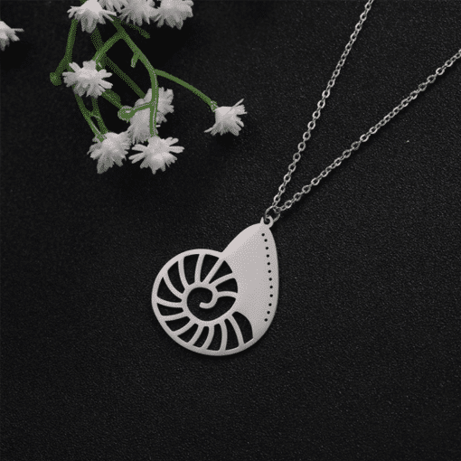 Nautilus pendant