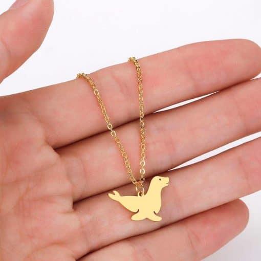 Sea Lion necklace