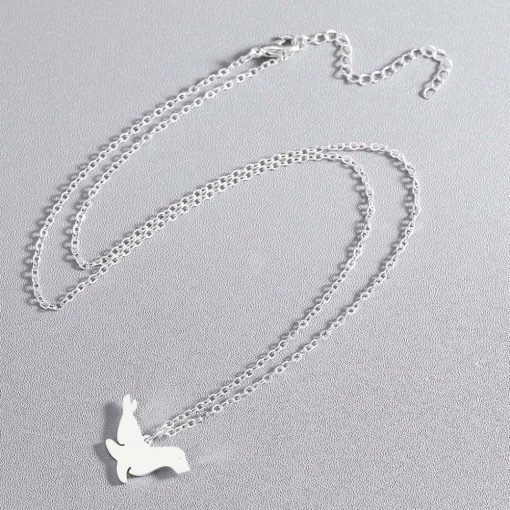Silver Sea Lion necklace