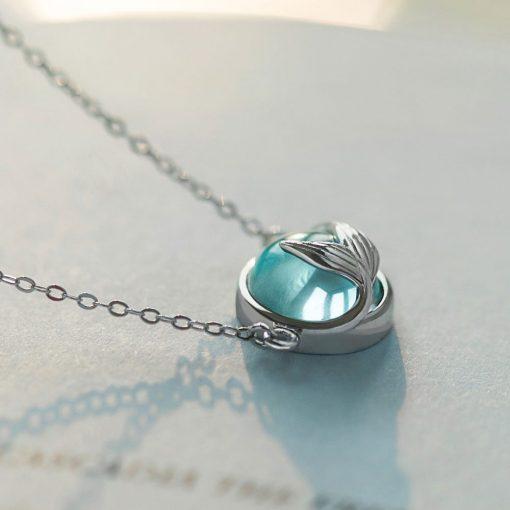 Mermaid Crystal Necklace