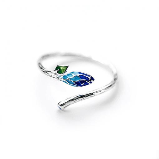 Silver Gorgonia Ring