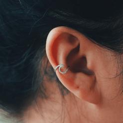 Wave Ear Cuff