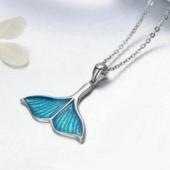 Whale Fluke Necklace