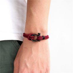 Black Shackle Bracelet