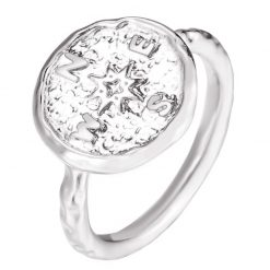 Silver Compass Ring