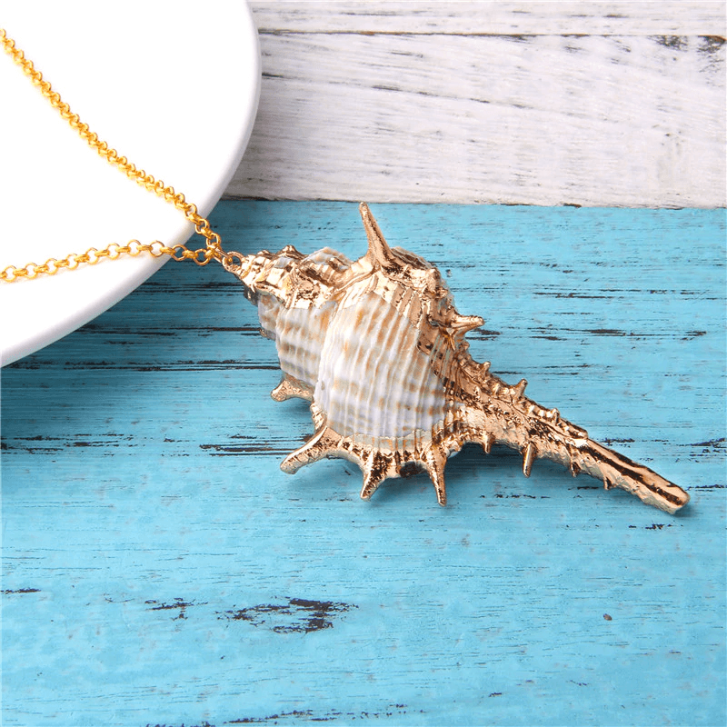 Beachy Murex Necklace