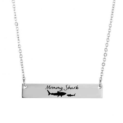 Mommy Shark Necklace
