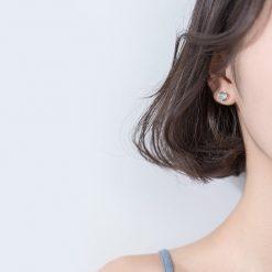 Silver Beach Earrings