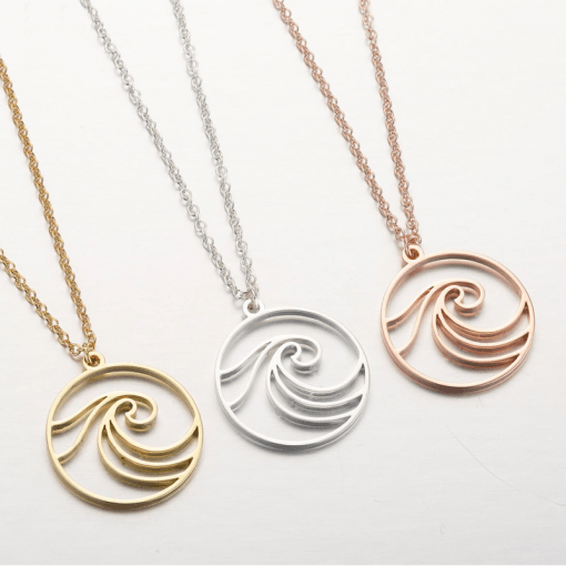 Surfing Necklace