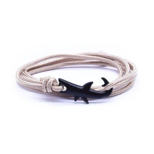 Beige Shark necklace