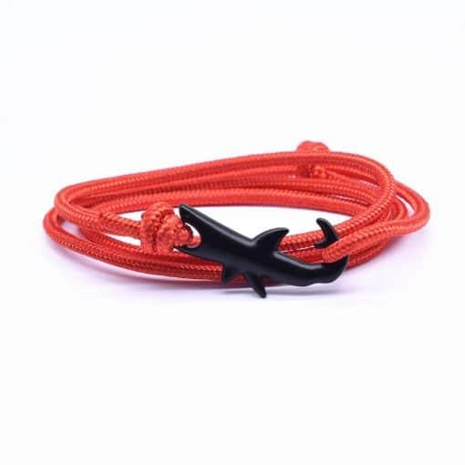 Orange Shark Bracelet