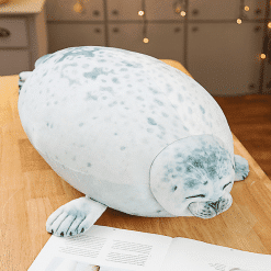 cute seal pillow