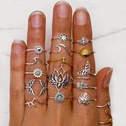 Ring Set Bohemian