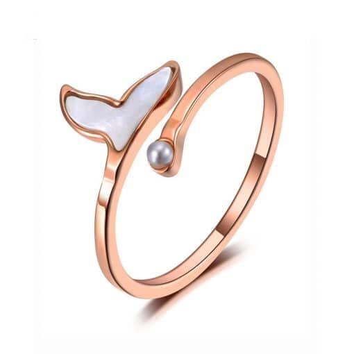 Premium Whale Tail Ring