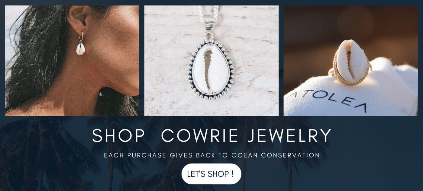 Cowrie jewelry
